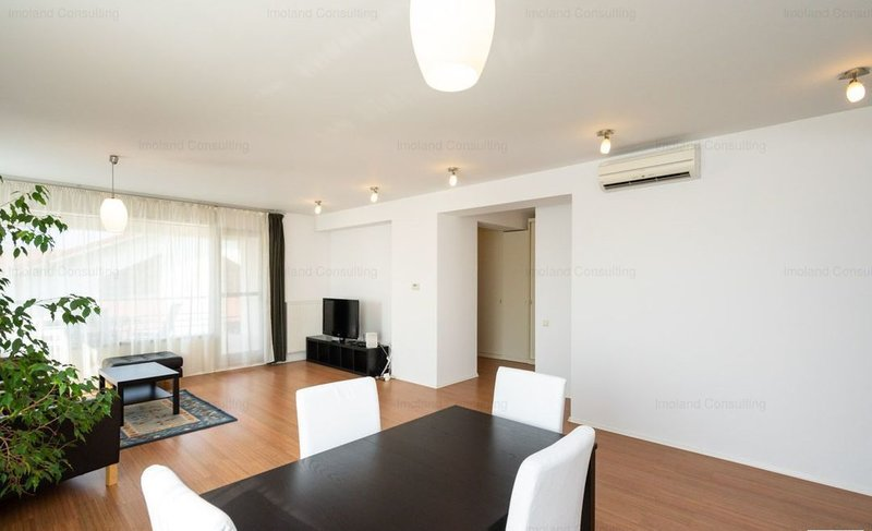 Baneasa, langa Petrom City, penthouse in vila,